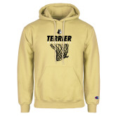 Champion Vegas Gold Fleece Hoodie-Terrier Basketball w/ Net