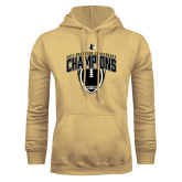 Champion Vegas Gold Fleece Hoodie-2017 Football Champions Vertical Football