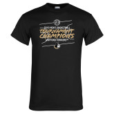 Black T Shirt-2019 Mens Basketball Champions