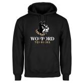 Black Fleece Hoodie-Wofford Terriers w/ Terrier