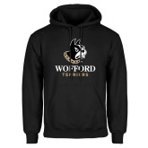 Black Fleece Hoodie-Wofford Terriers w/ Terrier