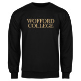 Black Fleece Crew-Wofford College Stacked