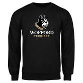 Black Fleece Crew-Wofford Terriers w/ Terrier