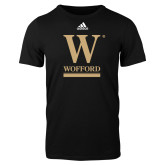 Adidas Black Logo T Shirt-W Wofford