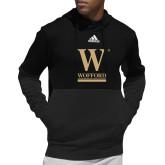 Adidas Black Team Issue Hoodie-W Wofford