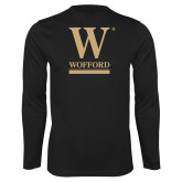 Performance Black Longsleeve Shirt-W Wofford