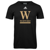 Adidas Climalite Black Ultimate Performance Tee-W Wofford