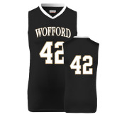 Replica Black Adult Basketball Jersey-#42