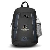 Impulse Black Backpack-Wofford Terriers w/ Terrier