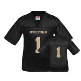 Youth Replica Black Football Jersey-#1