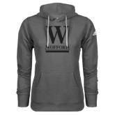 Adidas Climawarm Charcoal Team Issue Hoodie-W Wofford