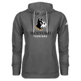Adidas Climawarm Charcoal Team Issue Hoodie-Wofford Terriers w/ Terrier
