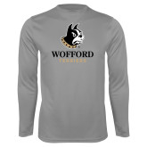 Syntrel Performance Steel Longsleeve Shirt-Wofford Terriers w/ Terrier