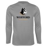 Performance Steel Longsleeve Shirt-Wofford Terriers w/ Terrier