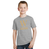 Youth Grey T-Shirt-W Wofford