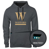 Contemporary Sofspun Charcoal Heather Hoodie-W Wofford
