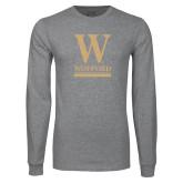 Grey Long Sleeve T Shirt-W Wofford