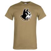 Khaki Gold T Shirt-Terrier