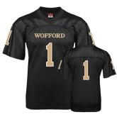 Replica Black Adult Football Jersey-#1