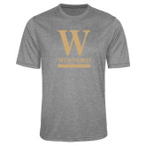 Performance Grey Heather Contender Tee-W Wofford