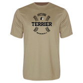 Performance Vegas Gold Tee-Wofford College Terrier Baseball w/Seams