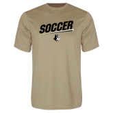 Performance Vegas Gold Tee-Wofford Soccer Slanted