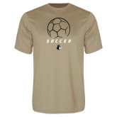 Performance Vegas Gold Tee-Wofford Soccer Stacked
