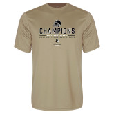 Performance Vegas Gold Tee-2017 Football Champions