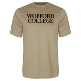 Performance Vegas Gold Tee-Wofford College Stacked