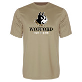 Performance Vegas Gold Tee-Wofford Terriers w/ Terrier