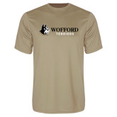 Performance Vegas Gold Tee-Wofford Terriers w/ Terrier Flat