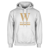 White Fleece Hoodie-W Wofford