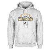 White Fleece Hoodie-2017 Football Champions - Football