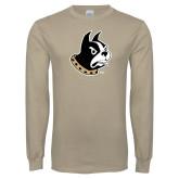 Khaki Gold Long Sleeve T Shirt-Terrier