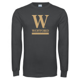 Charcoal Long Sleeve T Shirt-W Wofford