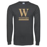 Charcoal Long Sleeve T Shirt-W Wofford