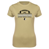Ladies Syntrel Performance Vegas Gold Tee-2017 Football Champions - Football