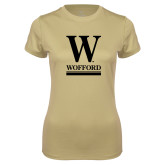 Ladies Syntrel Performance Vegas Gold Tee-W Wofford