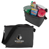 Six Pack Grey Cooler-Wofford Terriers w/ Terrier