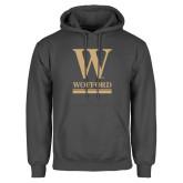 Charcoal Fleece Hoodie-W Wofford