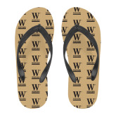 Full Color Flip Flops-W Wofford