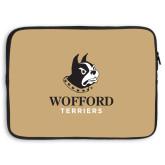 15 inch Neoprene Laptop Sleeve-Wofford Terriers w/ Terrier