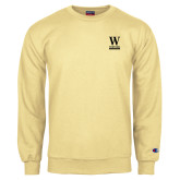 Champion Vegas Gold Fleece Crew-W Wofford