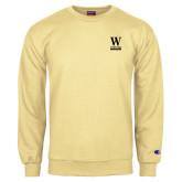 Champion Vegas Gold Fleece Crew-W Wofford