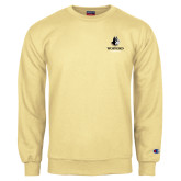 Champion Vegas Gold Fleece Crew-Wofford Terriers w/ Terrier