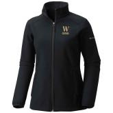 Columbia Ladies Sweet As Black Hooded Jacket-W Wofford