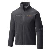 Columbia Full Zip Charcoal Fleece Jacket-Wofford College Stacked