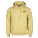 Champion Vegas Gold Fleece Hoodie-Wofford College Stacked