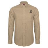 Red House Tan Long Sleeve Shirt-W Wofford
