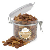 Deluxe Nut Medley Round Canister-Wofford College Stacked